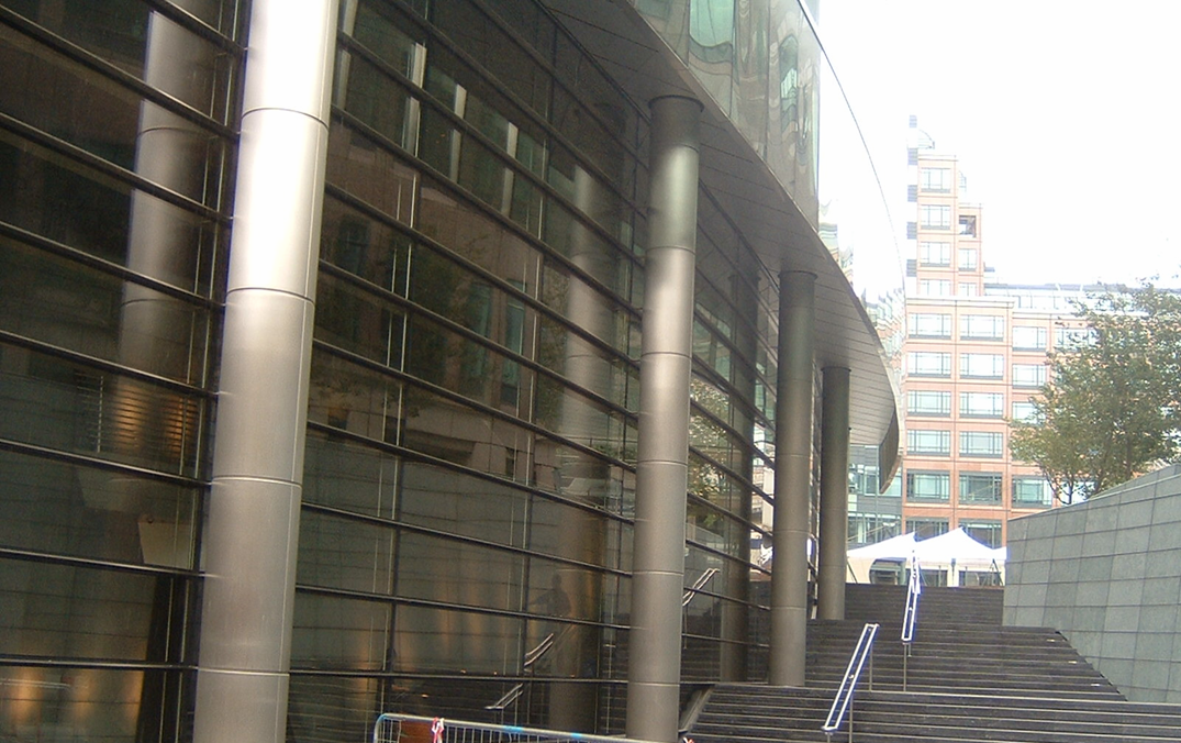 Steel/Glass Facade - 10 Exchange Square, London