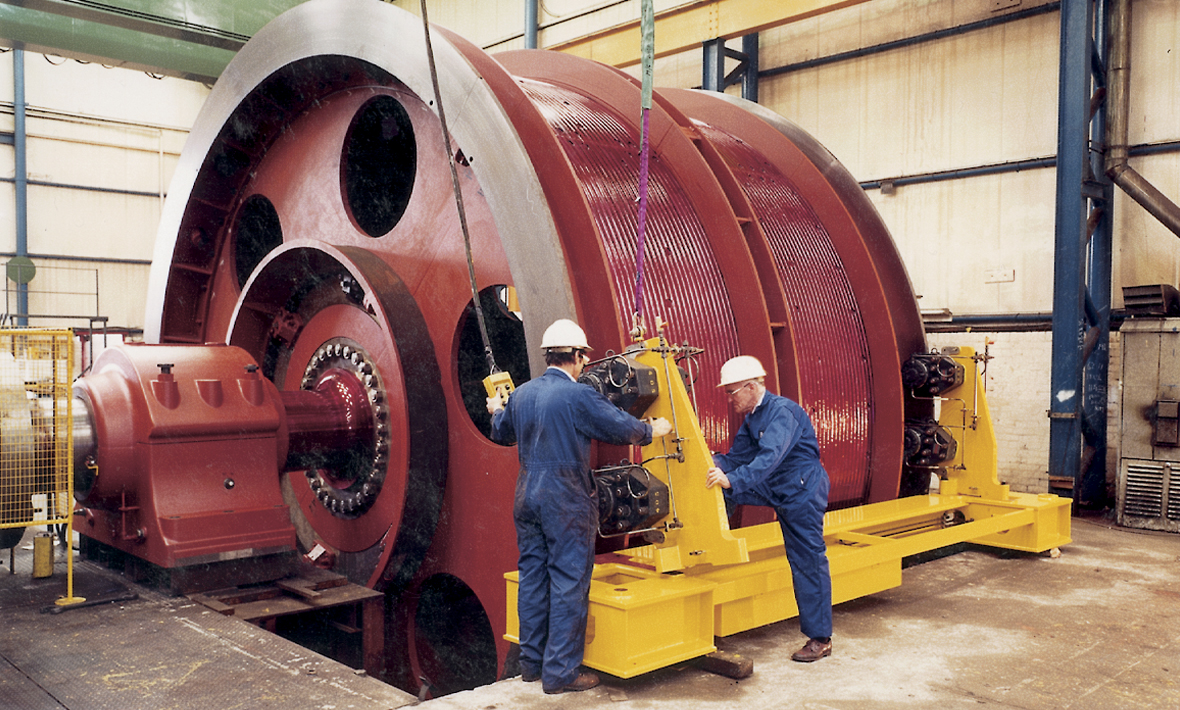 4.9 metre diameter drum winder | UK