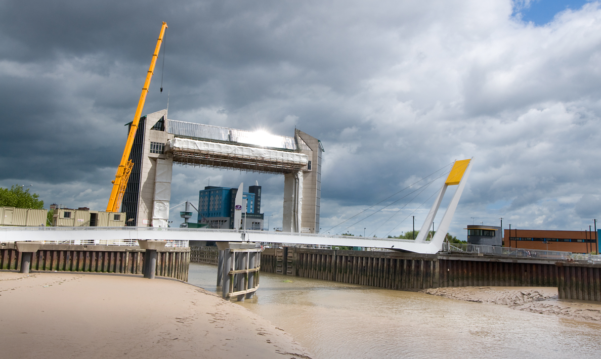 Refurbishment of Hull Tidal Surge Barrier | Hull