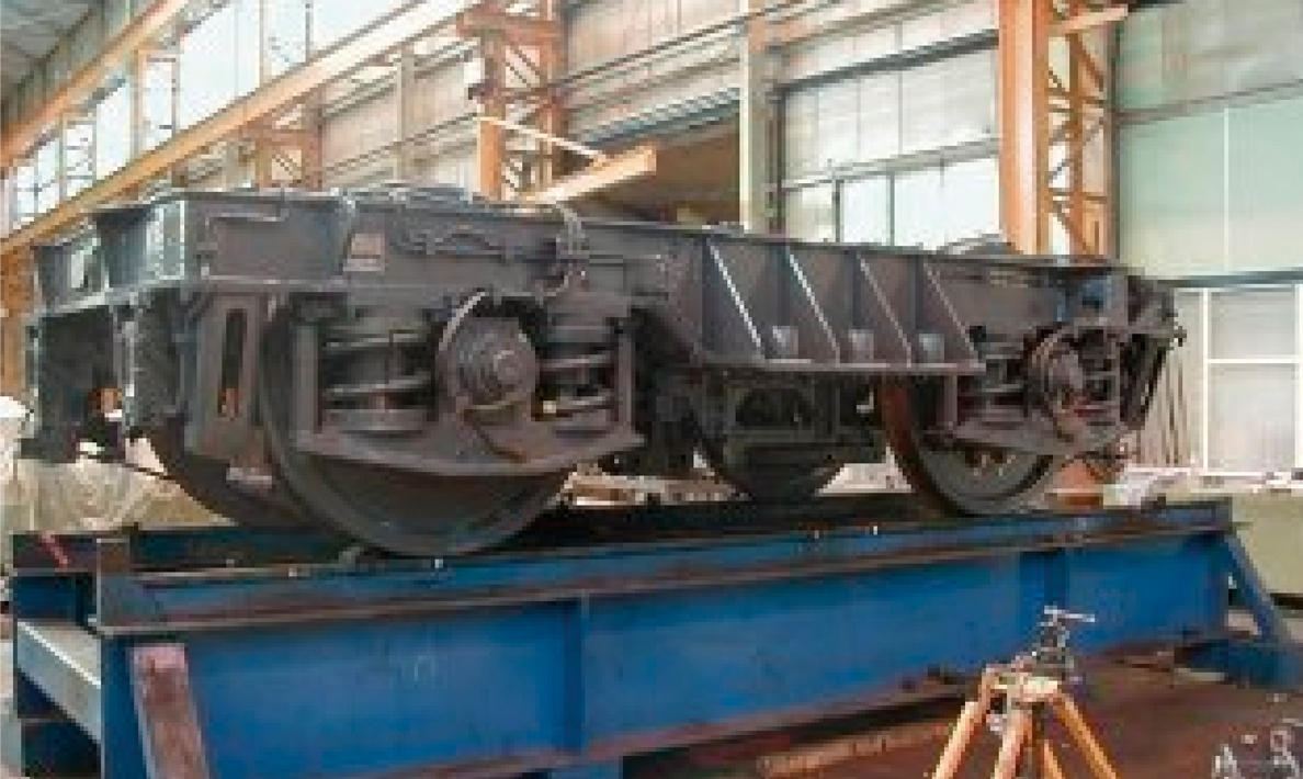 Fabrication of channel tunnel locomotive bogies