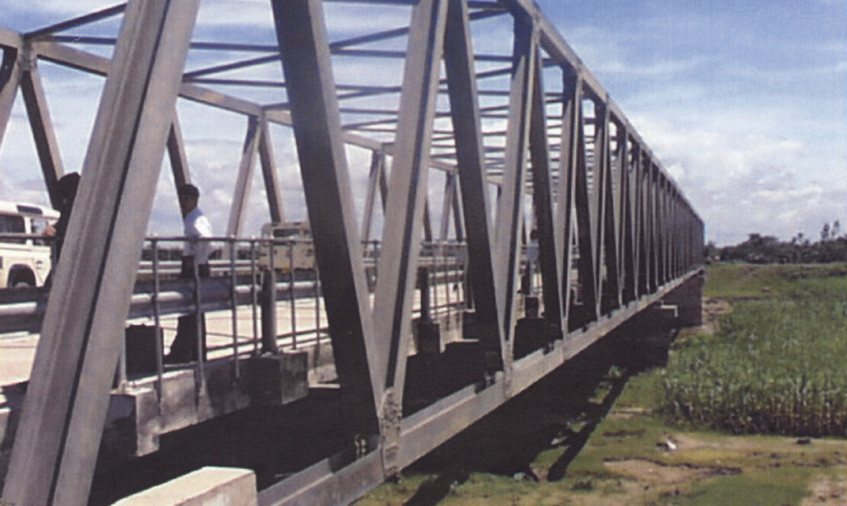 Modular bridge with concrete deck | Bangladesh