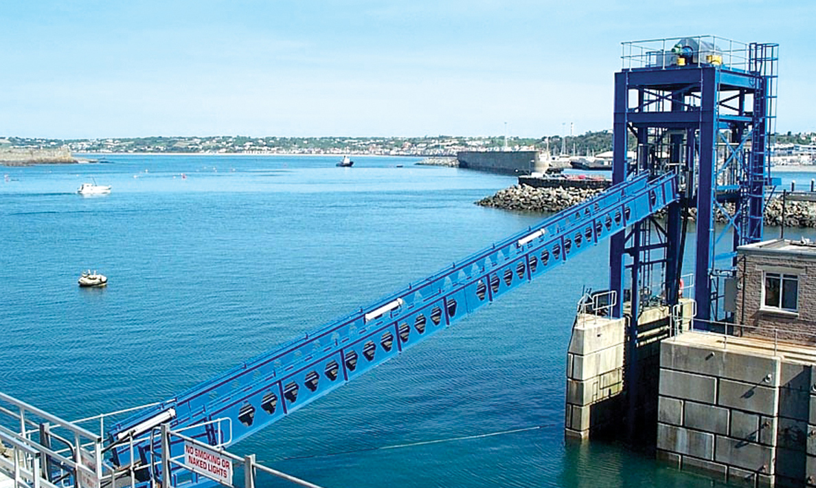 Crew access facility | Jersey Harbour