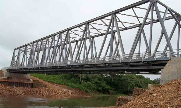 Kendal Bridge, new modular bridge completed | Belize